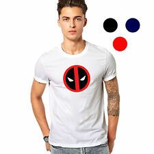 Branded Cotton T Shirt - Deadpool Logo T Shirt - Brand Deadpool Printed T Shirt