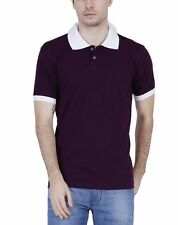 Fleximaa Men's Cotton Polo Collar T-Shirts With Pocket