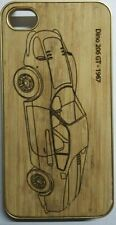 Natural Bamboo Wood Compass Shape Hard Case Cover For iPhone 4G/4S(Sku-c143)