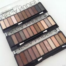 Technic Eyeshadow Palette - Various Mattes, Smokey & Shimmer Shades - 6 & 12 Pcs