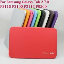 Leather Skin Book Cover Case For Samsung Galaxy Tab 2 P3110 P3100(Sku-C176)