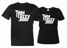 Thin Lizzy - Maglietta Tributo Band Rock Metal T-Shirt Uomo Donna