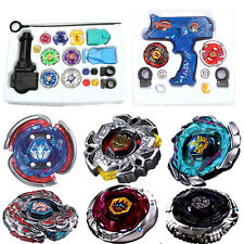 4D Beyblade Fusion Top Metal Master Rapidity Spinning Fight Launcher Set Toy New