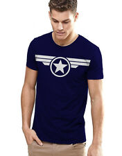 Captain America Civil War - T-shirt High Quality Printed Round Neck T-Shirt