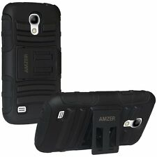 AMZER DOUBLE LAYER HYBRID CASE WITH STAND FOR SAMSUNG GALAXY S4 MINI DUOS i9192