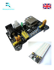 Breadboard Power Module 3.3V/5V MB102 - Optional 830point Breadboard - Free post