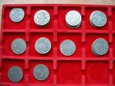 British - 1937 to 1946 George VI  Half-Crown - Choose your Date