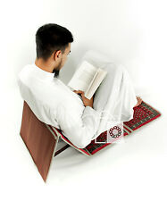New Design Luxury Backrest Folding Padded Islamic Prayer Mat / Chair Prayer Mat