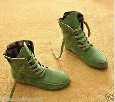Premium Quality Flat-Bottomed Women's/Girls Boots Sports Casual Shoes - Size 39