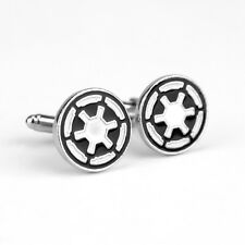 STAR WARS - GALACTIC EMPIRE IMPERIAL CREST CUFFLINKS - SHEEV PALPATINE