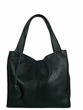 borsa donna in vera pelle made in italy nuova bag leather tracolla