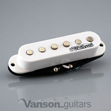 1 x NEW Wilkinson Vintage 60's Single Coil Pickups for Strat®* WHITE MWVS