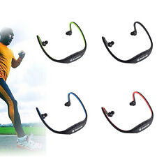 Bluetooth Wireless Sports Neckband Headset Stereo Headphone Earbud Hands-free