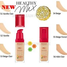 NEW BOURJOIS HEALTHY MIX ANTI- FATIGUE AND RADIANCE REVEAL FOUNDATION