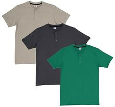 Fleximaa Men's Cotton Henley Neck T-Shirts (Pack of 3) (hpgr-hbis-hsgrey)