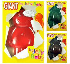 Giant Jelly Baby 1Kg 200 times Bigger Novelty Gift Kids Soft Chewy Sweet