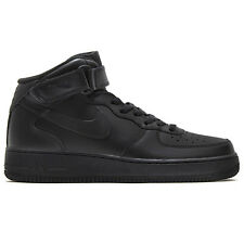 NIKE AIR FORCE 1 ONE MID 07 Hombre High Zapatos Negros Zapatillas DUNK