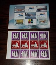 ISLE OF MAN MINT STAMP BOOKLET PANES - SELECT INDIVIDUAL BOOKLET PANE