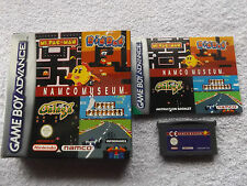 NAMCO MUSEUM BOXED NINTENDO GAME BOY ADVANCE GBA V.G.C. FAST POST COMPLETE