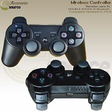 DOUBLE SHOCK III WIRELESS CONTROLLER FOR PLAY STATION 3 SIXAXIS VIBERATION