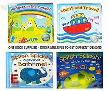 """Bath Book Baby Pack of 1 Floating Educational & Fun Bath Toy """"First Steps"""""""