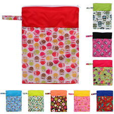 Waterproof Zipper Mummy Baby Bag Cloth Diaper Nappy Pouch Organizer