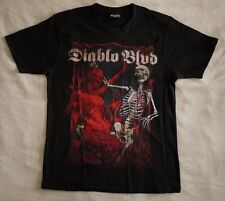 "Diablo Blvd. official T shirt ""Blacklake poster"" black New (M)"