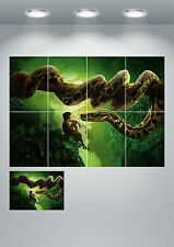 The Jungle Book Snake Wall Art Poster Print - A3 / A4 Sections or Giant 1Piece