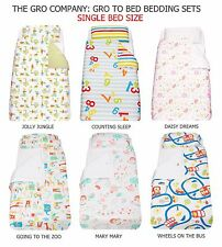 The Gro Company Gro to Bed Toddler/Kids BEDDING SET - SINGLE BED *6 Designs*