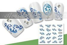 water decal stickers ongles HD nail art manucure vernis gel reference G