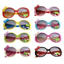 Kids Coloured Cute Fashion Bowknot Decorated Fun Sunglasses Frame Gifts