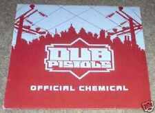 """Dub Pistols-Official Chemical 12""""-GEFFEN, CHEMICAL 3, 2001, PROMO Picture Sleeve"""