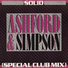 """Ashford and Simpson-Solid (Special Club Mix) 12""""-Capitol Records, 12CL 345, 1984"""