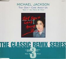 Michael Jackson-They Don't Care About Us / Beat It CDS-Epic, 662950 7, 1996, 4 T