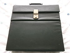 "Classic Retro Record Case (UK shipping only)-To Hold 30 12""singles / LPs Black 7"