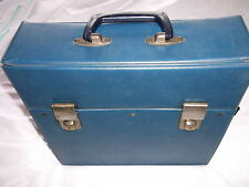 "Classic Retro Record Case (UK shipping only)-To Hold 20 12""singles / LPs 1970s B"
