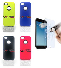 Cover Custodia A Prova Di Shock Antiurto Ibrida Fluorescente Iphone 5G 5S