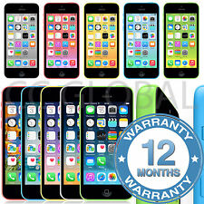 Apple iPhone 5c 8/16/32GB Factory Unlocked Mobile Smartphone - Various Colours