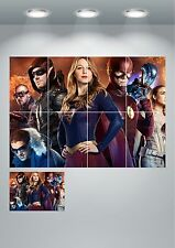 DC's Legends of Tomorrow Wall Art Poster Print A3 / A4 Sections or Giant 1 Piece