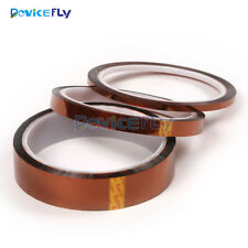33M*5/10/20/30/50mm Gold High Temperature Heat Resistant Kapton Tape Polyimide