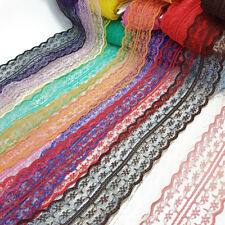 Vintage Style Lace Ribbon Trimming Bridal Wedding Net Trim Scalloped Edge 47mm