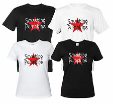 Smashing Pumpkins Maglietta Rock Band T-Shirt Replica Logo Uomo Donna