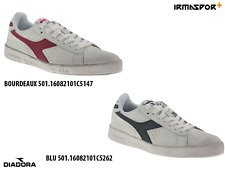 Scarpe Diadora game l low mid waxed uomo donna sneakers basse in pelle con lacci