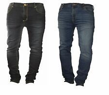 MENS PREMIUM DENIM SUPER STRETCH SKINNY FIT JEANS EXTREMELY COMFORTABLE