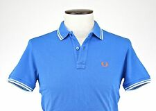 POLO M/CORTA UOMO FRED PERRY art.30102148 col.BLUET - MADE IN ITALY - SCONTO 50%