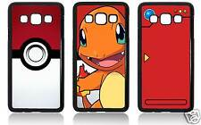 POKEMON POKEMONS POKEDEX POKEBALL CHARMANDER SAMSUNG GALAXY CARCASA FUNDA