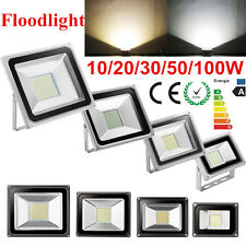 10W 20W 30W 50W 100W SMD LED Floodlights IP65 Outdoor Garden Security Light 220V