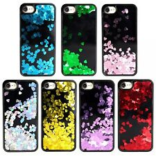 New Liquid Glitter Hearts Bling Moving Latest Design Case Cover For iPhone 6 7