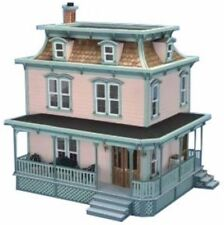 Lily Classic Victorian-Style Dollhouse Kit All-Wood with Open Back Design