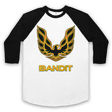 FIREBIRD UNOFFICIAL RAGLAN ¾ SLEEVE SMOKEY AND THE BANDIT BASEBALL T SHIRT SIZES